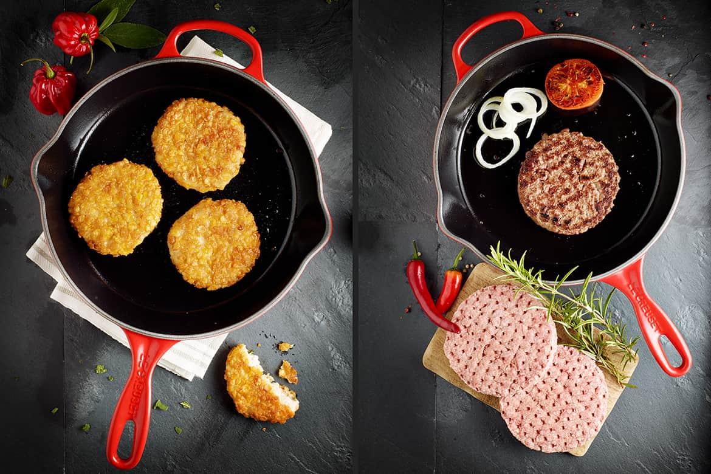 Foodfotograf_photodesign michael loeffler_Pfanne mit fleischpaddys-min