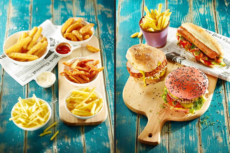 Foodfotografie_Burger_Pommes frites_photodesign michael loeffler-min